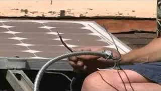 How to Install Solar Panels : Wiring for Solar Panels