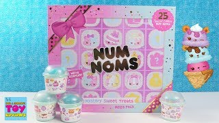 Num Noms Exclusive Mystery Sweet Treats 25 Blind Bags Toy Review | PSToyReviews