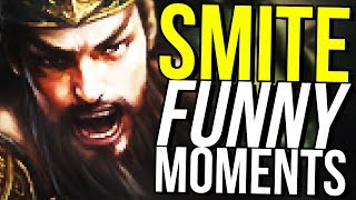 I ALMOST DIED! (Smite Funny Moments)