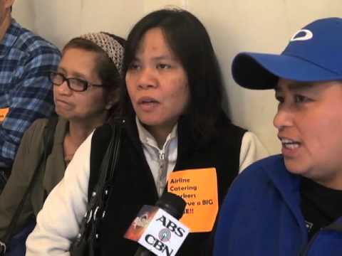 Fil-Am airline caterers prepared to strike for higher wages