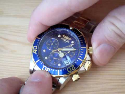 Invicta Watch - Swiss Quartz Chronograph Movement