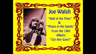 Watch Joe Walsh Half Of The Time video