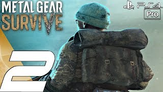 Metal Gear Survive - Gameplay Walkthrough Part 2 - Nurse Rescue & Wormholes (Full Game) PS4 PRO