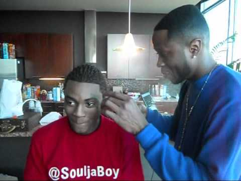 Juice Haircut   YouTube My Hair Talk For Me Fea. Soulja Boy   YouTube Soulja  Boy Haircut   Neat Urban ...