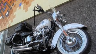 Used 2004 Harley-Davidson Heritage Softail FLSTCI Motorcycle For Sale