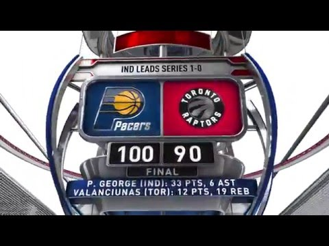 Indiana Pacers vs Toronto Raptors - April 16, 2016