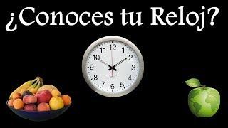 Reloj Biológico y la Alimentación Correcta
