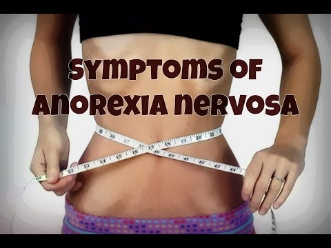 what are the symptoms of anorexia