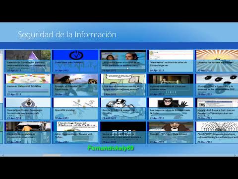 (APPS WINDOWS 8) Seguridad informatica virus hacking exploit malwares paginas de seguridad etc