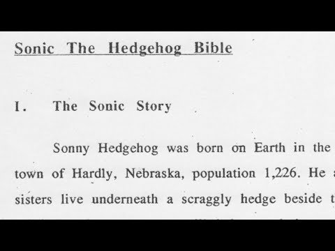 Let's Read the Sonic Bible(s)
