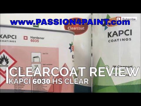 Review - Kapci 6030 HS Clearcoat Using The IWATA Supernova 1.3 Setup