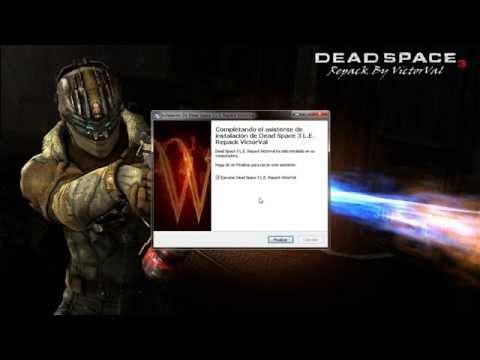 descargar e instalar dead space 3 en español audio y textos repack victorval