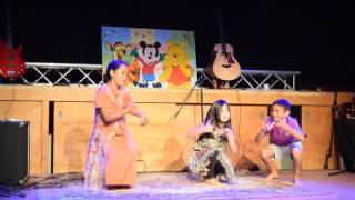 Dance Performance by Ariba, Junaira and Aupu at Satyam's Party
