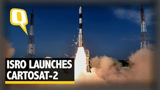 ISRO's PSLV-C38 Launches Cartosat-2 With 30 Nano Satellites