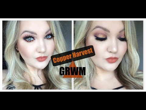 Fall Makeup Look: Copper Harvest | Ft. Miami Fever