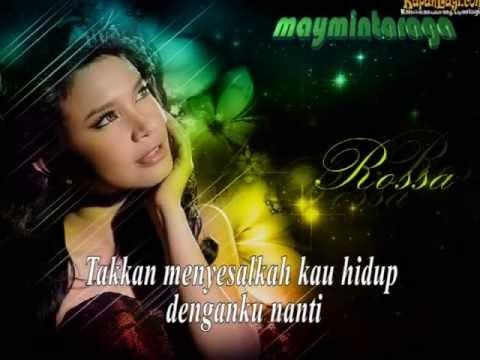 JANGAN ADA DUSTA DIANTARA KITA, Rossa, feat. Broery Pesulima