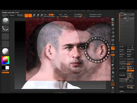 how to turn off polypaint in zbrush