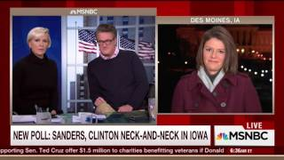 MSNBC Relentlessly Mocks Hillary Clinton For Leaving Iowa To Fundraise