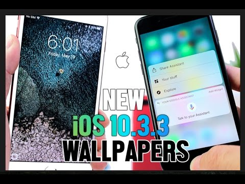 iOS 10.3.1 Jailbreak Update, iOS 10.3.3 New Wallpapers & More