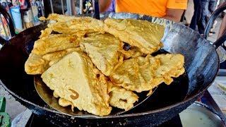 BIG BREAD PAKORAS   Popular Roadside Snack   Indian Street Food