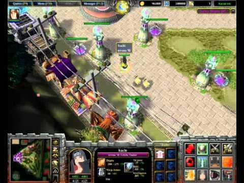 Warcraft III - Naruto Ninpou Tutorial Items.