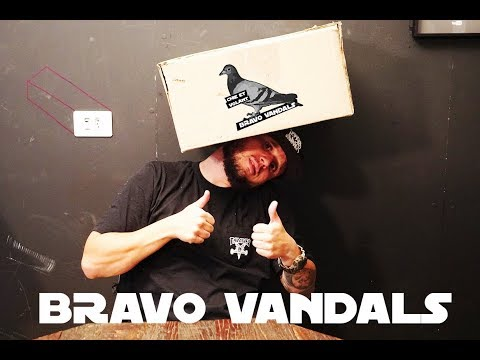 UNBOXING BRAVO VANDALS