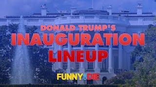Donald Trump's Inauguration Lineup
