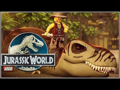 El mundo perdido | Ep. 06 | Lego Jurassic World en español (60fps)