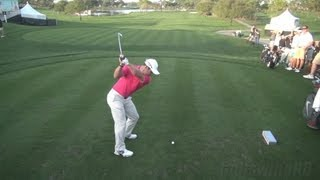 GOLF SWING 2013 - PAUL CASEY IRON DRIVE - ELEVATED DTL FULL SPEED & SLOW MOTION - 1080p HD