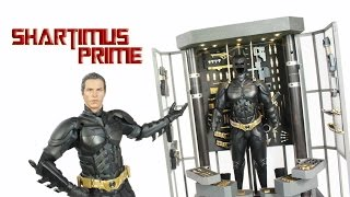 Hot Toys Batman Armory The Dark Knight Movie Masterpiece 1:6 Scale Action Figure Review