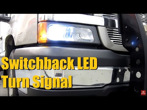 Switchback L.E.D. Turn Signal