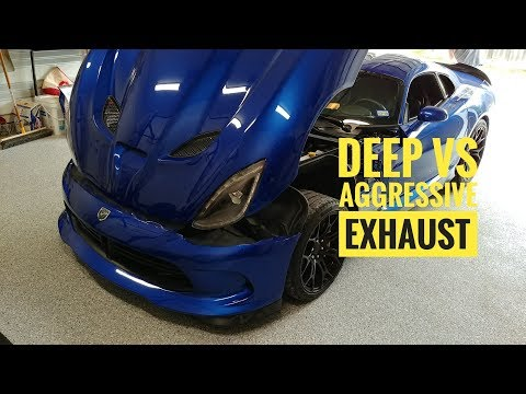 Corsa vs Belanger Exhaust | Dodge Viper SRT