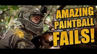 AMAZING PAINTBALL FAILS: My bloopers of 2015