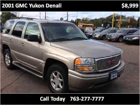 2001 GMC Yukon Denali Used Cars Spring Lake Park MN