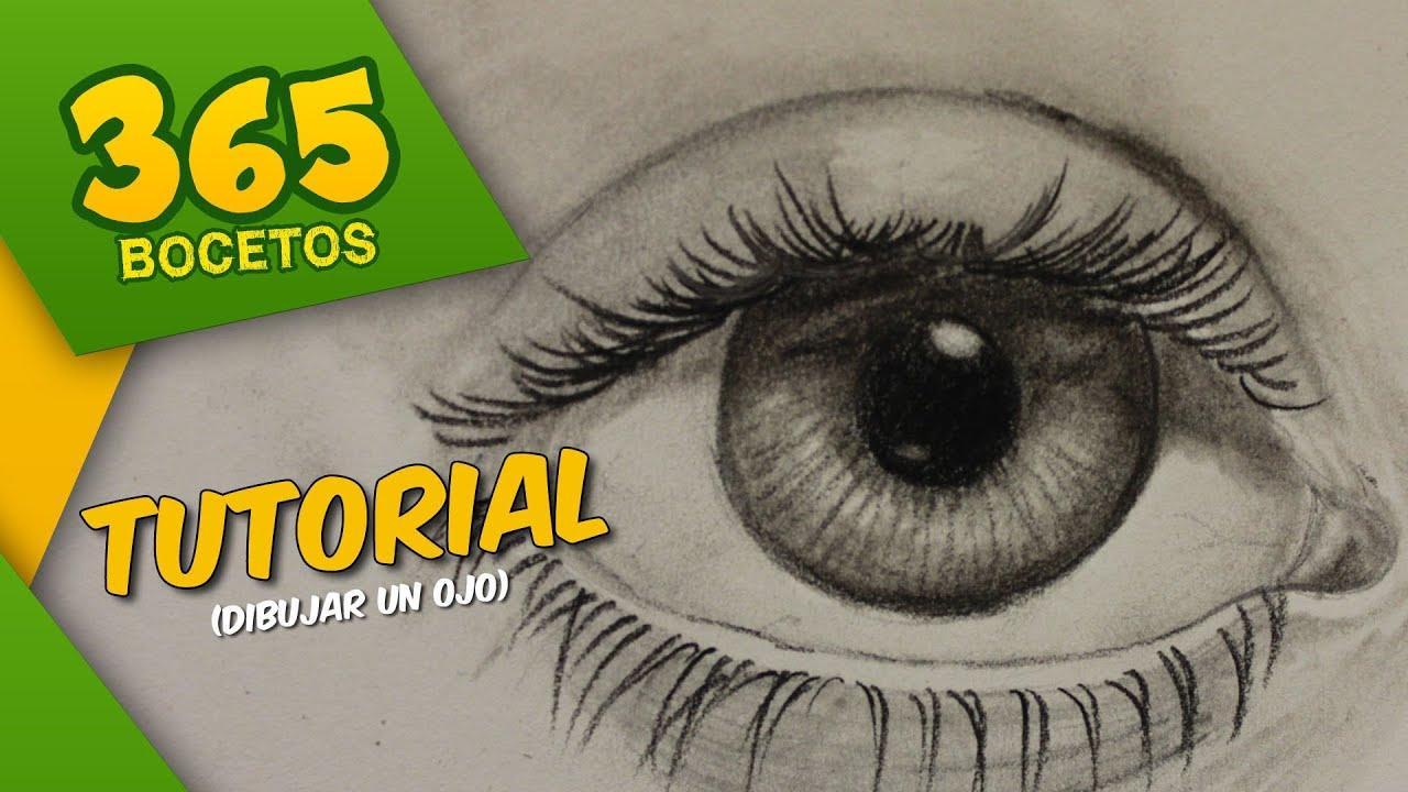 365 bocetos tutorial 6 dibujar un ojo   youtube