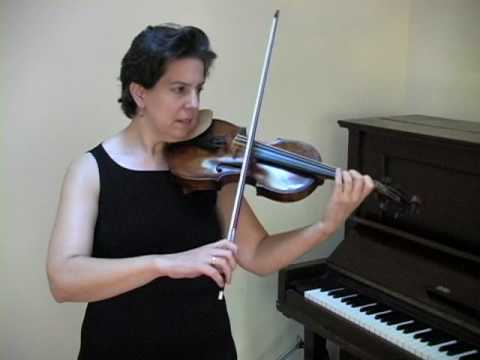 Suzuki Violin - Perpetual Motion Demo -  www.myviolinvideos.com