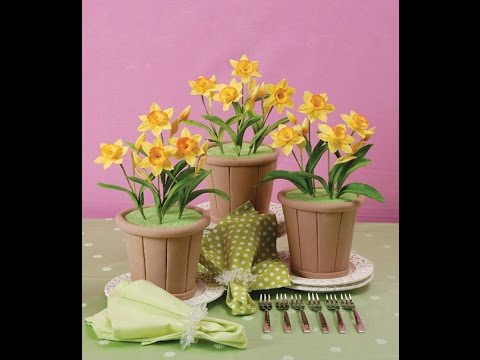 Сделать искусственный цветок своими руками