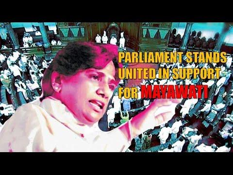 Parliament unites to support Kumari Mayawati