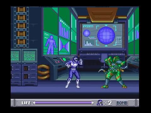 SNES Longplay [274] Mighty Morphin Power Rangers