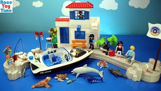Playmobil Police Speedboat Building Playset - Build and Review!