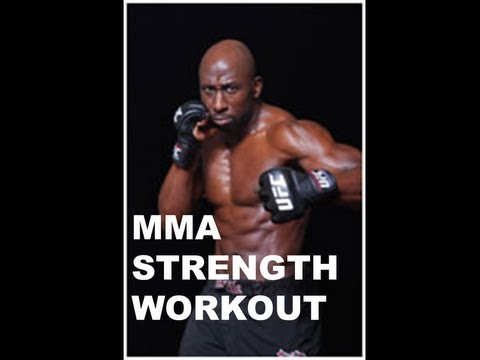 MMA WORKOUT FOR STRENGTH AND CONDITIONING