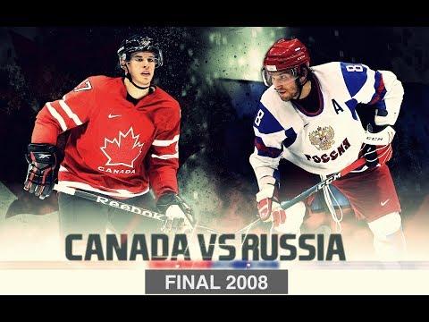Чемпионат Мира 2008 FINAL [ Russia - Canada ] [ 3прд. ] - HD