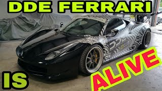 First test drive Daily Driven Exotics Ferrari 458 GT after repair fixed