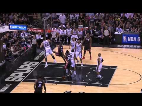 Miami Heat vs San Antonio Spurs Game 5 | June 15, 2014 | NBA Finals 2014