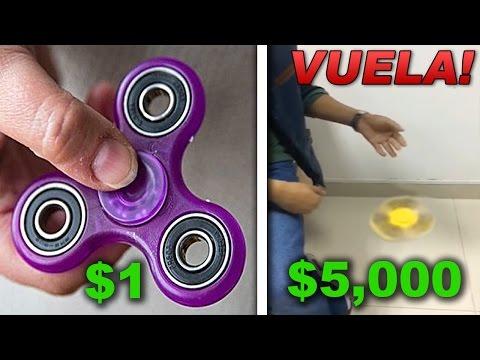 SPINNER DE $1 DOLAR VS SPINNER DE $5000 DOLARES ¿CUAL ES LA DIFERENCIA?