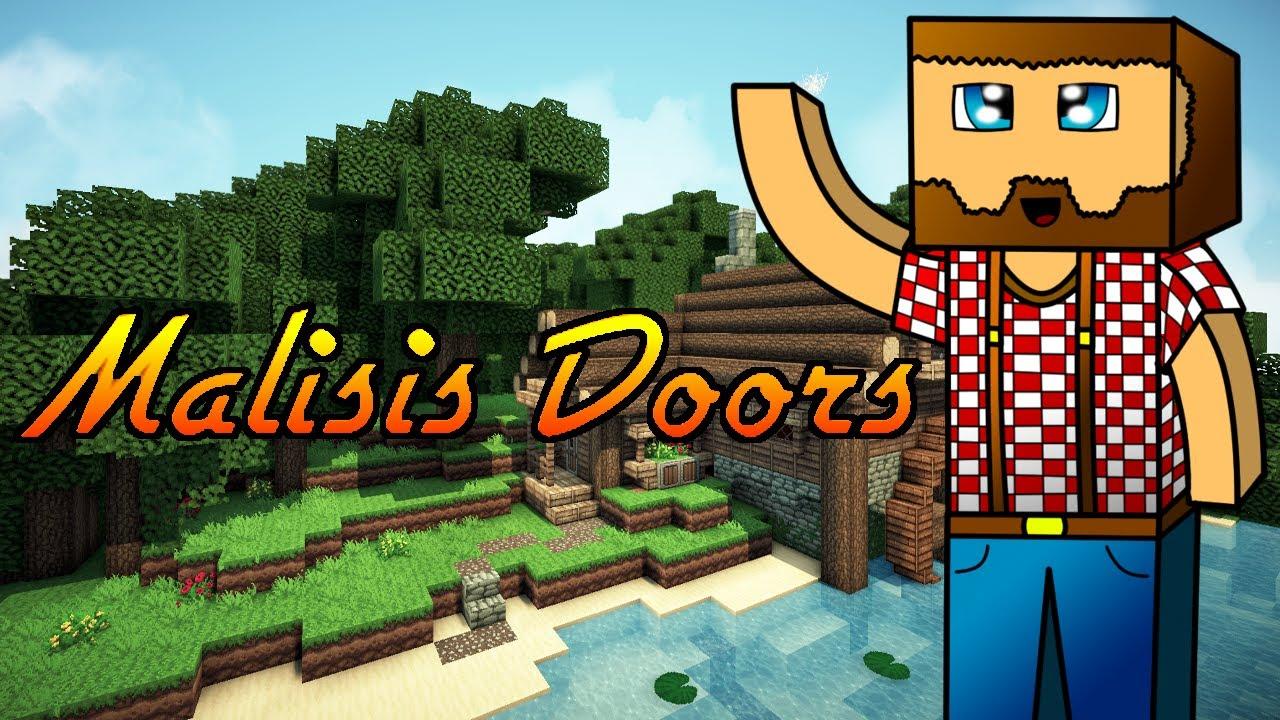 Special Doors Mod Malisis Doors Mod Showcase