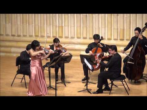 Serenade in A Major by A. Zemlinsky, violin KyungHee Yoon (�경� ��)