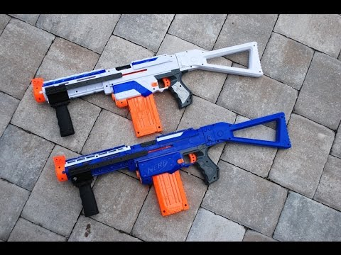 [MOD] Nerf Retaliator Modification - Pump Action!