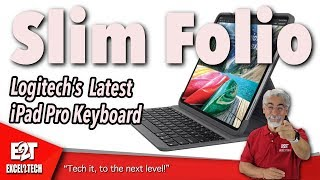 Logitech's Latest iPad Pro Keyboard, The Slim Folio Pro.