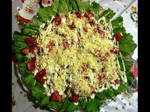 """Рецепт вкусного салата """"Цезарь"""" с курицей! Здесь!"""